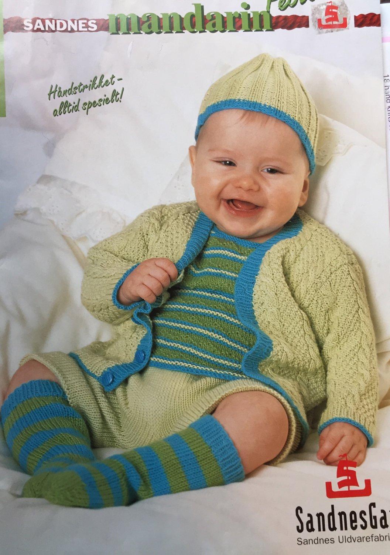 Sandnes Baby Scandinavian Knitting 0407 SandnesGarn Mandarin Petit