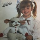 Simplicity 7989 sewing pattern  for LambChop puppet.