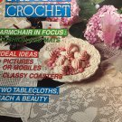 Magic Crochet 72 June  1991 Crochet Patterns Thread Crochet Doilies Fashion Home Decor
