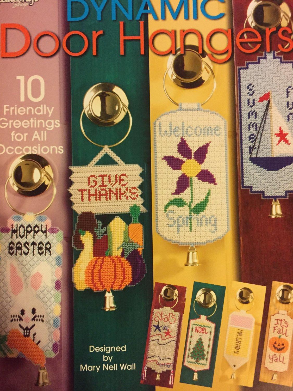 Dynamic Door Hangers, Needlecraft Shop, Pattern Leaflet #844332