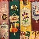 Dynamic Door Hangers, Needlecraft Shop, Pattern Leaflet #844332
