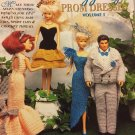Shady Lane Fashion Doll crochet dazzling prom dress Volume #1 booklet 391