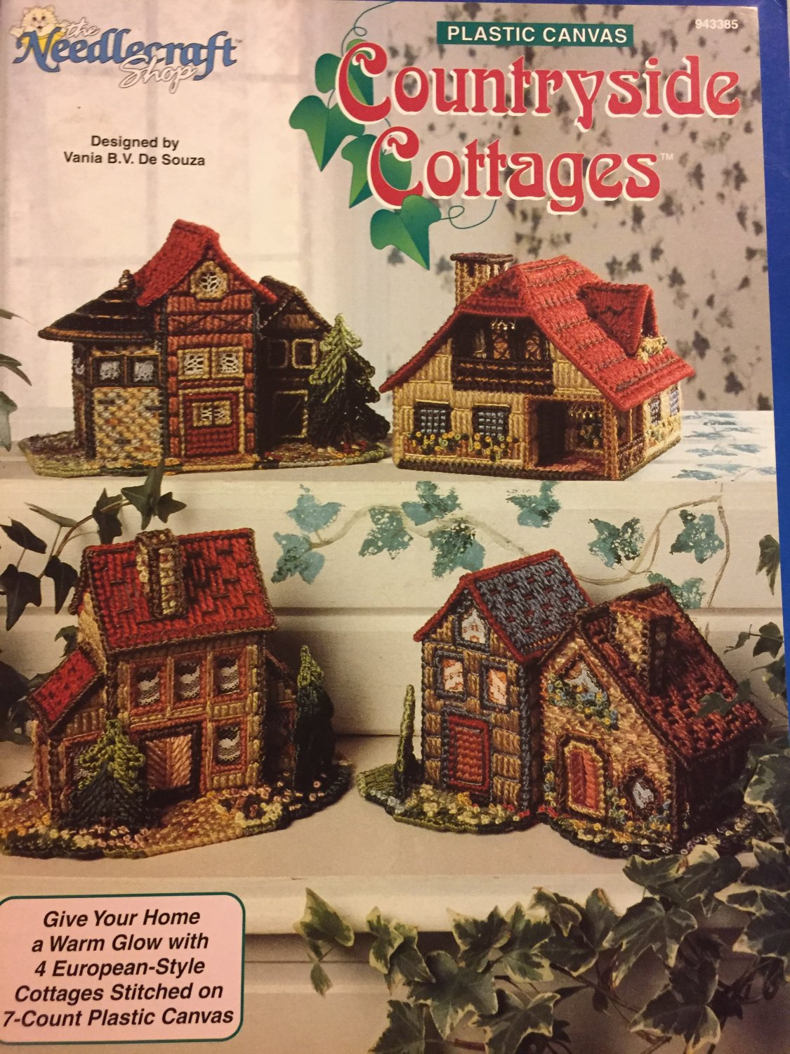 Countryside Cottages European Style Plastic Canvas Pattern #943385 Needlecraft Shop