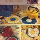 Dishcloths in the Round  Leisure Arts 2705 Crochet Pattern 17 Designs