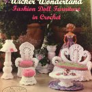 Wicker Wonderland Annie Potter Crochet Fashion Doll Furniture Pattern Booklet