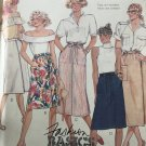 McCall's Skirt Pattern 3178 Misses' Wrap-Around Skirts in Four Variations Size 18