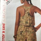 McCalls 3112 Misses Top and shorts Stich 'n Save easy sewing pattern size 12-14-16