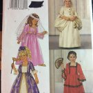 Butterick 3236 Marie Antoinette Medieval Sewing Pattern Children's Halloween Costume Size 2 - 5