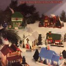 Plastic Canvas Pattern Leaflet The Christmas Village Vol. 3 American School of Needlework 3025