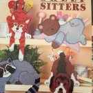 Shelf Sitters, Plastic Canvas Pattern Booklet American School of Needlework 3097