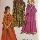 Simplicity 8354 Misses Caftan Dress One Size Short Average Tall Sewing Pattern