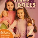 Matching Knits for Girls & Dolls American School of Needlework 1443 Knitting Pattern