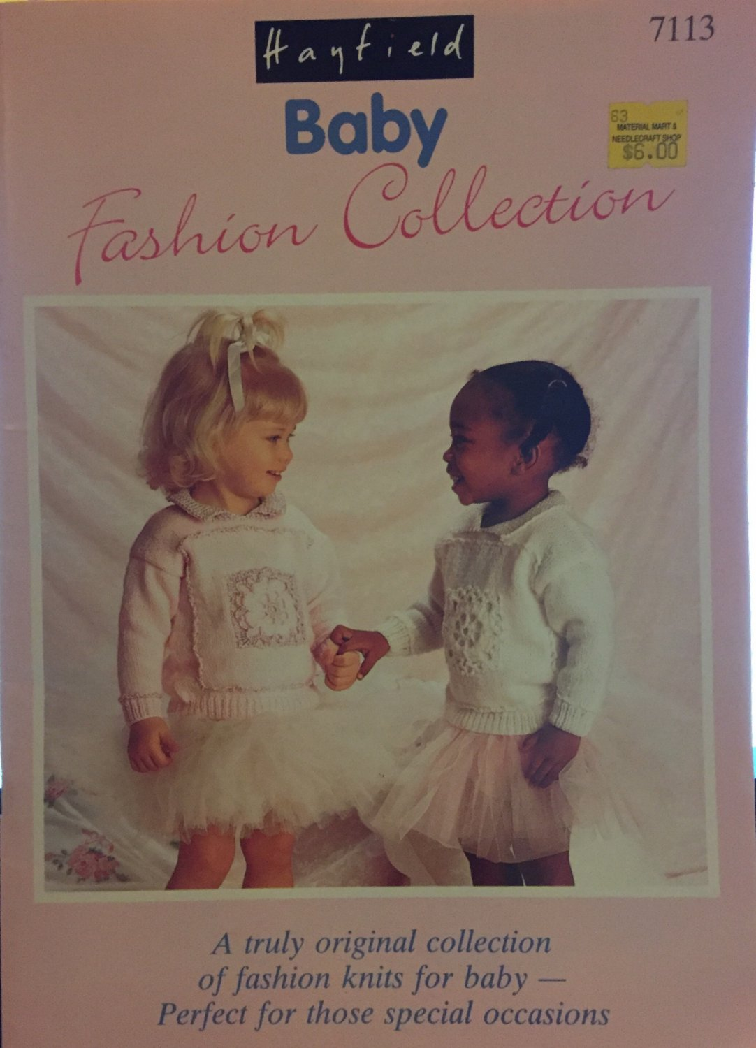 Hayfield  Baby Fashion Collection 7113 Children's Knitting Pattern 13 Designs for babies & toddlers