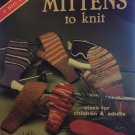 Mittens 2-needle knitting pattern American School of Needlework 6015