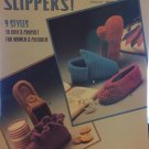 Slippers: 9 Styles to Knit & Crochet Leisure Arts Pattern Leaflet #356