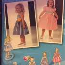Project Runway Simplicity 2430 Toddlers' & Childs' Dresses with Bodice and Trim Variations,