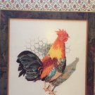 Rooster KING OF THE ROOST Cross Stitch Chart Green Apple CO. By David Merry