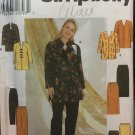Simplicity sewing pattern 7829 women misses pants tunic skirt jacket Uncut size 18-24