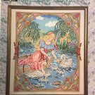Graphworks Storybook Collection cross stitch Morning at Swan Lake