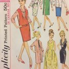 Simplicity 5673 Barbie Doll Clothes Pattern Wardrobe Fashion Doll Clothes Vintage Sewing Pattern