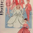 "Butterick 9195 18"" Pepper and Skipper doll clothes Vintage Sewing pattern"
