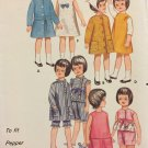 "Butterick 3350 9 1/2"" Pepper and Skipper doll clothes Vintage Sewing pattern"
