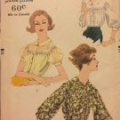 Vogue 9783 Vintage 1959 Tuck In Blouse Sewing Pattern Uncut Pattern Size 18