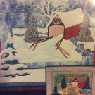 Pine Meadows Designs Covered Bridge Winter Scene Machine Applique Quilt Pattern