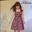 Girls dress Sundress Project Runway NEW LOOK 0120 sewing pattern  SZ 3 - 8