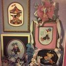 Stoney Creek Collection WISH IT Book 37 Cross Stitch Unicorn Merry go Round