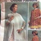 Crochet Cape Pattern Simplicity 5608 Vintage Crochet Fashions