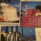 America's  Afghans American School of Needlework 1096 crochet pattern