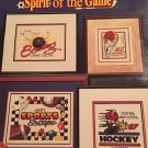 Stoney Creek Collection Spirit of the Game Book 220 Cross Stitch charts for Sports