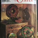 Log Cabin Christmas Holiday Tree Skirt Ornaments Simplicity 8159 Sewing Pattern