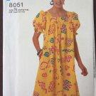 Caftan House Dress Muu Muu Pullover Easy Sewing Pattern Simplicity 8051 size 10 12 14