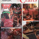 No Sew Christmas Holiday Simplicity 0656 8160 Sewing Pattern