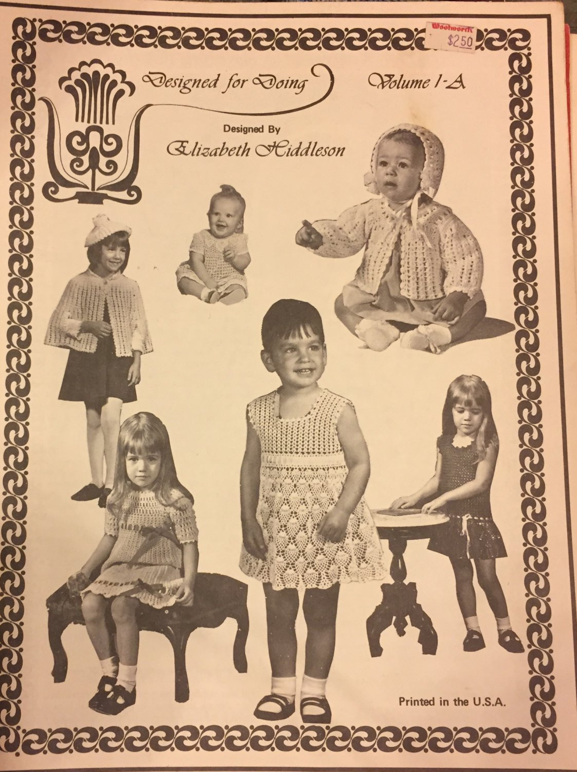 Elizabeth Hiddleson Volume 1-A  Lacy Dresses for babies and little girls