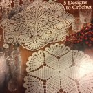 Classic Doilies 5 Designs to Crochet American School of Needlework 1144