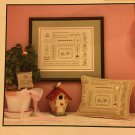 Heart Song Sampler Cross Stitch Pattern JBW DESIGNS by Judy Whitman