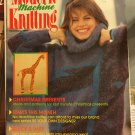 Modern Machine Knitting Magazine December 1987 Patterns for Christmas, evening knits