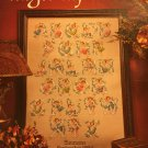 Angel Alphabet Cross Stitch Pattern Leisure Arts Leaflet 2870