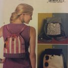 Butterick 6335 Drawstring Backpacks in Three Styles