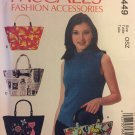 McCalls 7449 Sewing Pattern Womens Handbag or Tote Bags  UNCUT