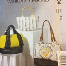 McCalls 7334 Sewing Pattern Womens Handbag or Tote Bags or Beach Bags in 3 Variations UNCUT