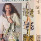 Ruched and Gathered Tote Bags McCall's M6905 Sewing Pattern