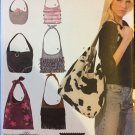 Shoulder Bag Tote Bag Sewing Pattern 7 Designs Simplicity 4117 uncut