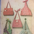 2381 Simplicity  Bags 5 Designs for Bags or totes or purses  UNCUT Sewing pattern