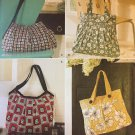 SIMPLICITY PATTERN 2685 4 Styles Handbags Totes by Elaine Heigl Sewing Pattern