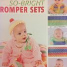 So-Bright Romper Sets 4 Designs Crochet Pattern Leisure Arts 3529
