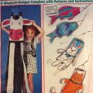 Sewing Pattern Windsocks Butterick 971 4 designs uncut pattern